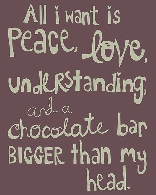 Just For Fun ….. Chocolate Quotes!!